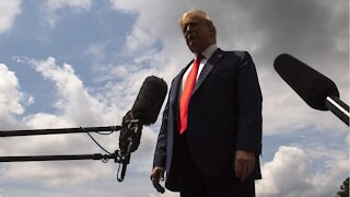 Trump Promises Relief Package After Election