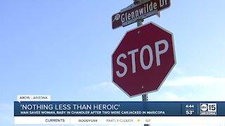 Arizona woman shares story after escaping carjacking