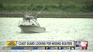 Coast Guard searching for missing firefighters off Florida coast