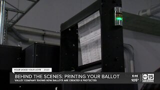 Behind the scenes: Printing your ballot