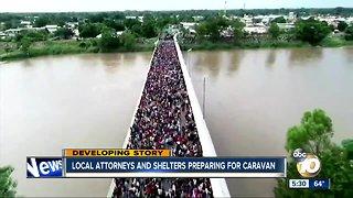 Migrant caravan continues journey to U.S.