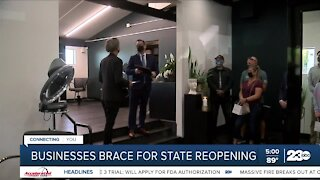 Business owners discuss state reopening