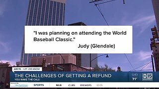 Should you get a refund for canceled events or trips?