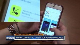 Wasden urges Congress to take action against robocalls