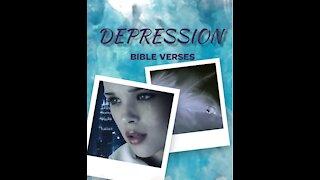 6 Bible verses for DEPRESSION // Scriptures for Depression// Depression Motivation 7#shorts
