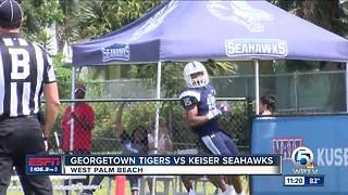 Georgetown College vs Keiser University