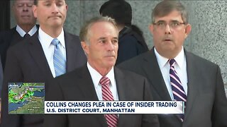 Former Congressman Chris Collins pleads guilty to insider trading charges