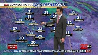 23ABC Evening weather update November 9, 2020