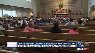 Local Jewish Community Rallies For Pittsburgh Synagogue Victims