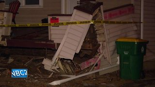 Police: Suspect's vehicle crashes into home during chase