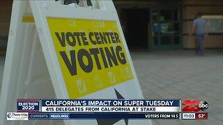 California's impact on Super Tuesday