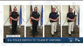 """Broken Arrow Police Switch to """"Class B"""" Uniforms"""