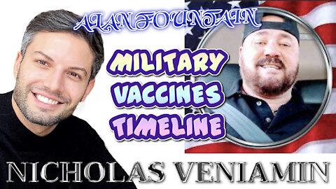 """Alan Fountain: """"Military Is 'Q' 100%"""" with Nicholas Veniamin"""