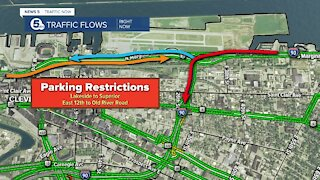Cleveland announces road closures, parking restrictions ahead of NFL Draft
