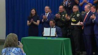 DeSantis signs 'anti-riot' bill into law while Democrats denounce measure