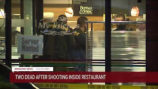 2 people killed after shooting at My Friends Restaurant in Cleveland