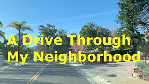 Driving Through My Neighborhood