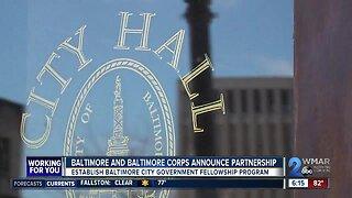 Baltimore, Baltimore Corps announce partnership