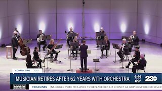 Bakersfield Symphony musician retires after 62 years
