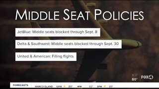 JetBlue to keep middle seats blocked