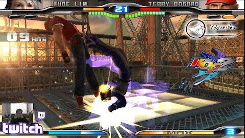 (PS2) KOF Maximum Impact 2 - 29 - Chae Lim - Lv Maniac