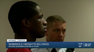 Accused Seminole Heights killer to appear in court Tuesday