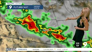 Monsoon stays active to start the week