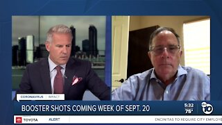 COVID-19 Booster shots coming in September
