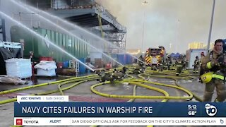 New reports reveal failures with Bonhomme Richard fire