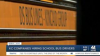 KC companies hiring school bus drivers