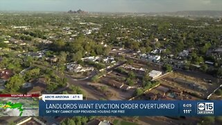 Landlords sue for end to eviction moratorium