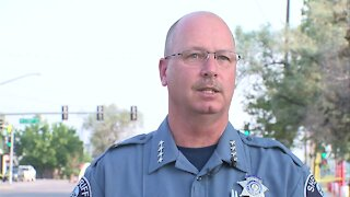 Adams County sheriff provides details on deputy shooting, killing wanted suspect