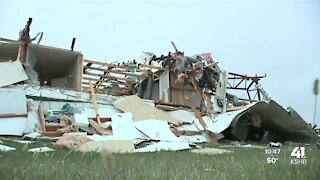 Tornado rips roof off Caldwell County home