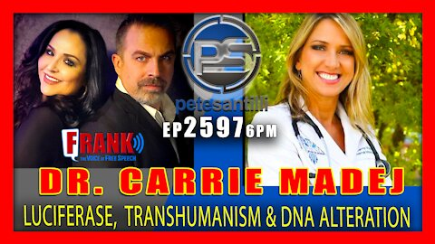 EP 2597 6PM Dr. Carrie Madej Darpa's Hydrogel Vaccine Technology Trans-humanism & DNA Alteration