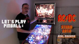 LET'S PLAY: REAL AC/DC Pinball Machine.