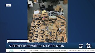 Supervisors approve ordinance on 'ghost guns' in SD County