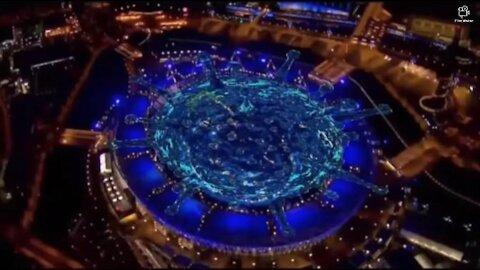 Olympiáda 2012 Londýn - Zahájenie koronavírovým rituálom. Projekt Covid-19 beží od roku 2012