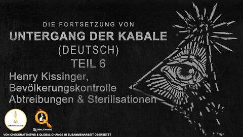 "Teil 6 / 17: Fortsetzung der Serie ""Fall Cabal"" (Untergang der Kabale) von Janet Ossebaard"