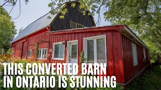 This Cheap Barn For Sale In Ontario Looks Totally Different On The Inside