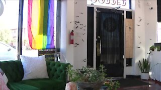 All non-binary, female Denver tattoo shop target of vandalism, owner says