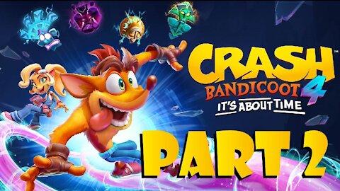 Crash Bandicoot 4: All BOXES and HIDDEN GEMS - Salty Wharf