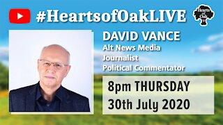 Livestream with David Vance 30.7.20