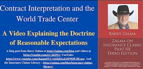 Contract Interpretation and the World Trade Center