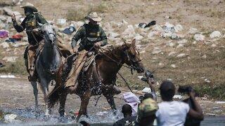 U.S. Border Patrol Agents Seen Using Aggressive Tactics On Migrants