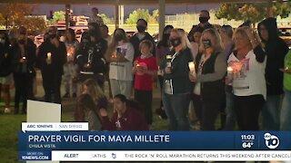 Community hosts prayer vigil for Maya Millete