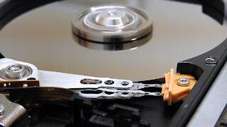 hard disk operation