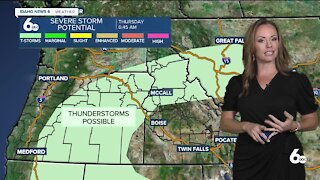 Rachel Garceau's Idaho News 6 forecast 9/9/21