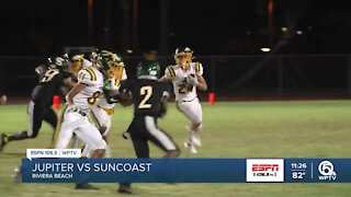 Jupiter holds on to the shutout at Suncoast