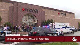 Police: 2 dead, 5 injured in shooting at Boise Towne Square