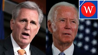 'It's Time The Democrats Fix It': Kevin McCarthy Accuses Biden of LYING